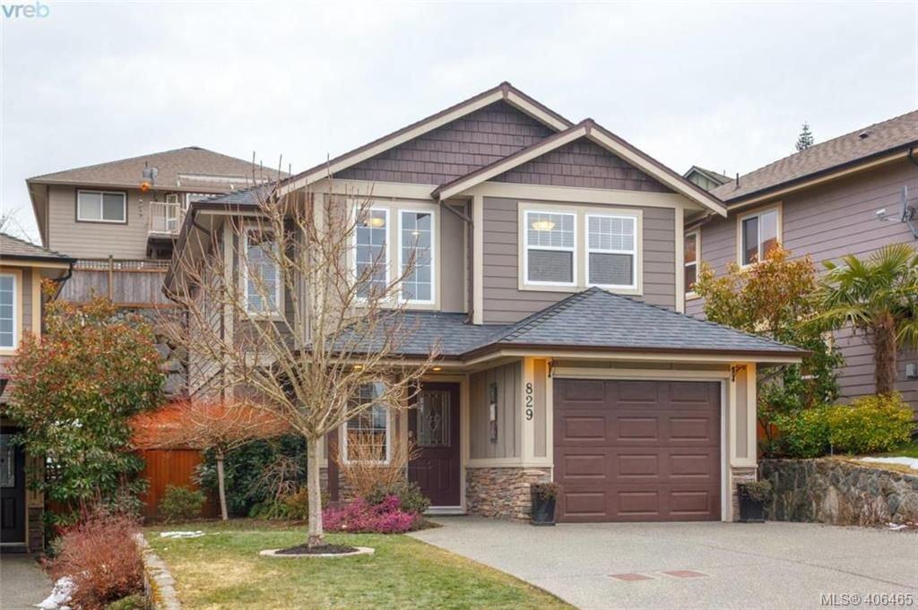 Main Photo: 829 Gannet Crt in VICTORIA: La Bear Mountain Single Family Detached for sale (Langford)  : MLS®# 807786