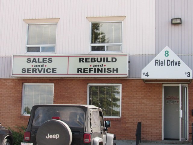 Main Photo: 4 8 Riel Drive: St. Albert Industrial for lease : MLS®# E4148699