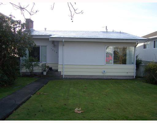 Main Photo: 1316 West 59th Ave in Vancouver: South Granville Home for sale ()  : MLS®# V731358