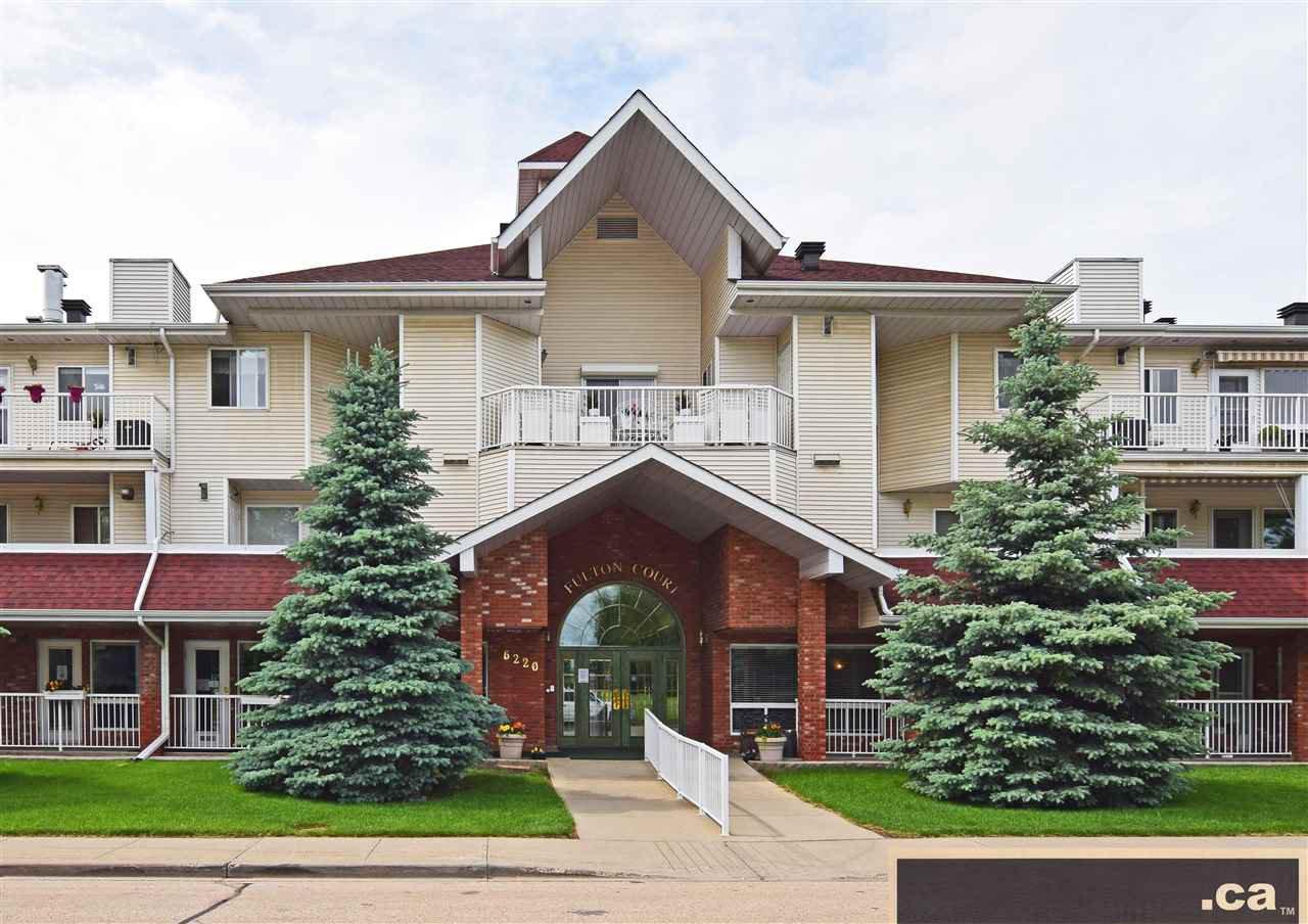 Main Photo: 323 6220 FULTON Road in Edmonton: Zone 19 Condo for sale : MLS®# E4162742
