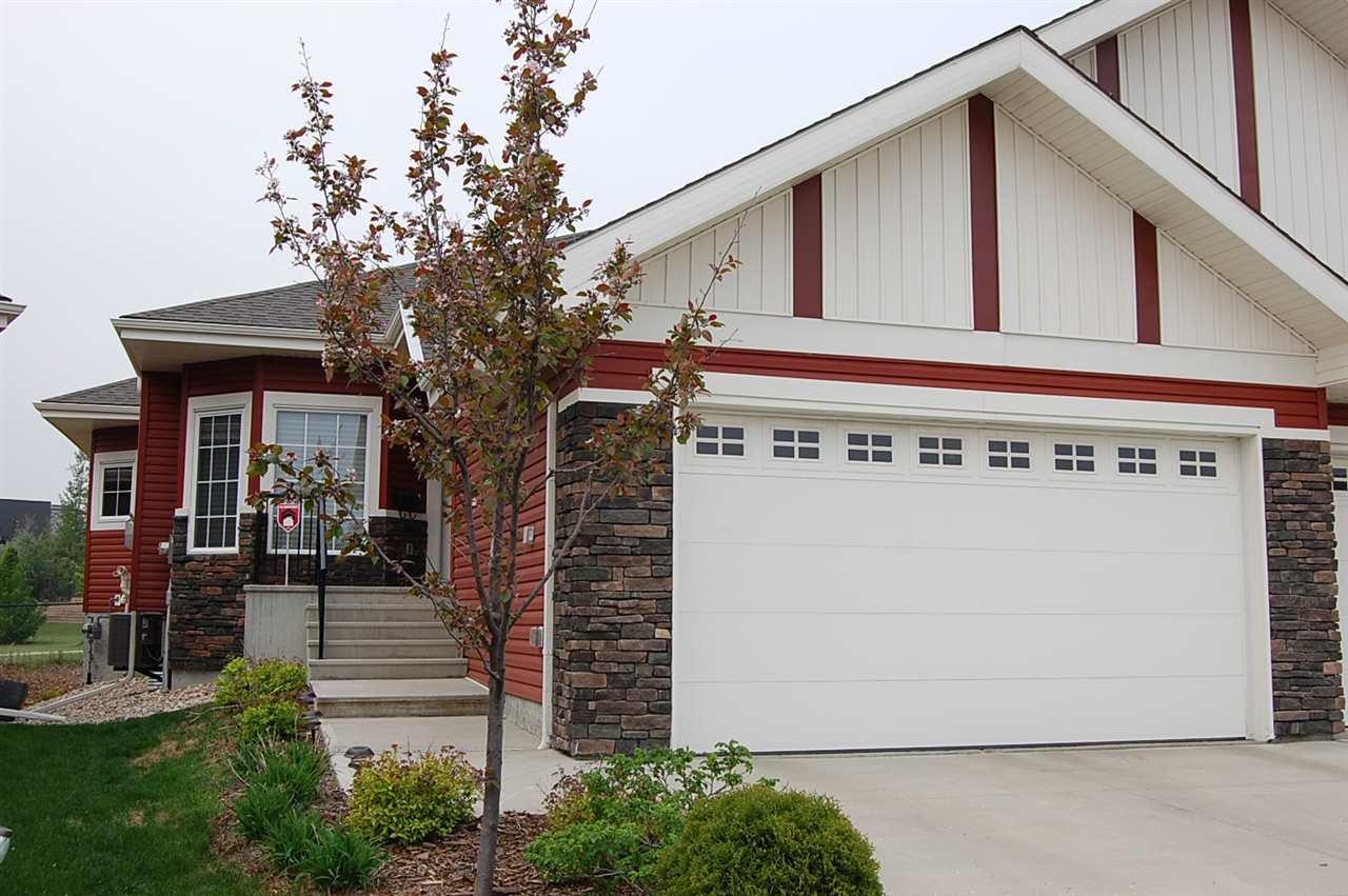 Main Photo: 8 88 LACOMBE Drive: St. Albert House Half Duplex for sale : MLS®# E4178120