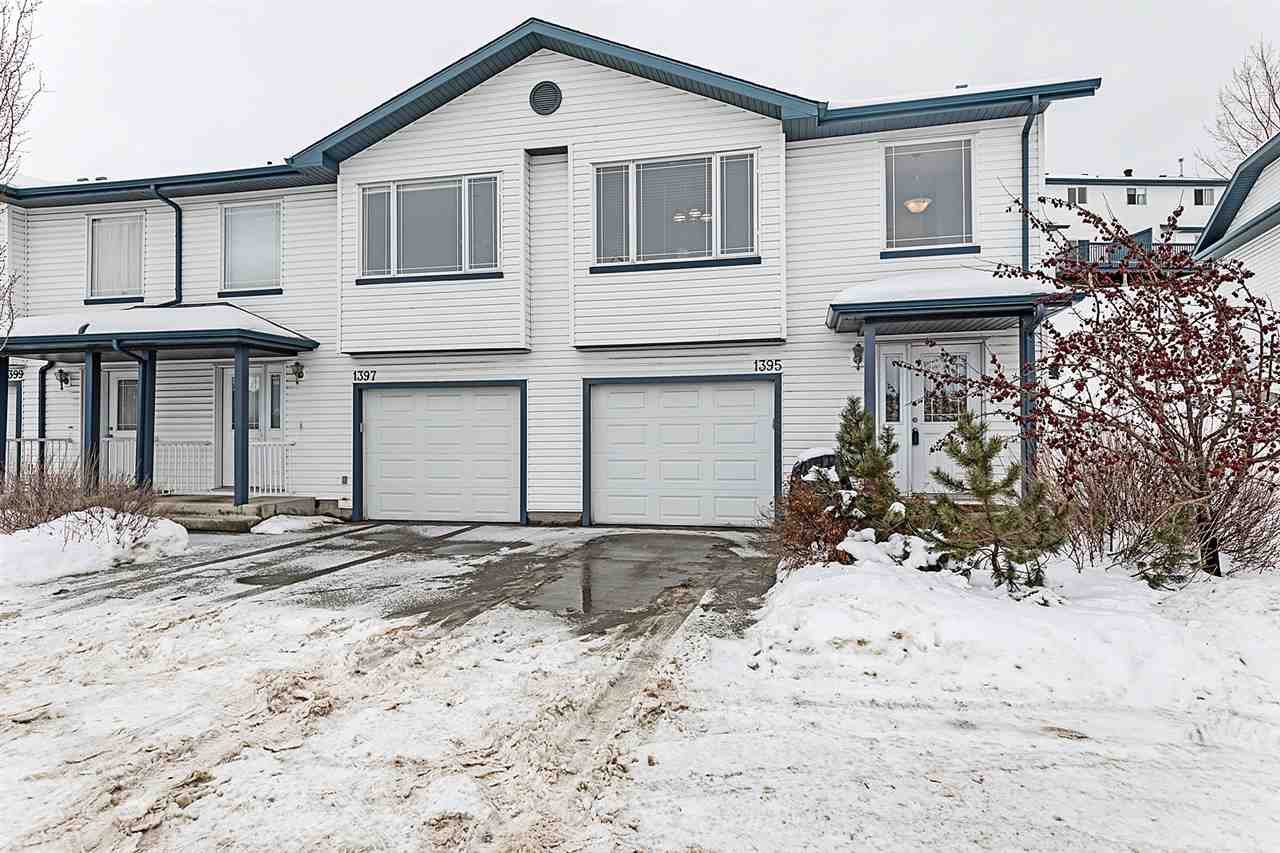 Main Photo: 1395 HERMITAGE Road in Edmonton: Zone 35 Townhouse for sale : MLS®# E4186049