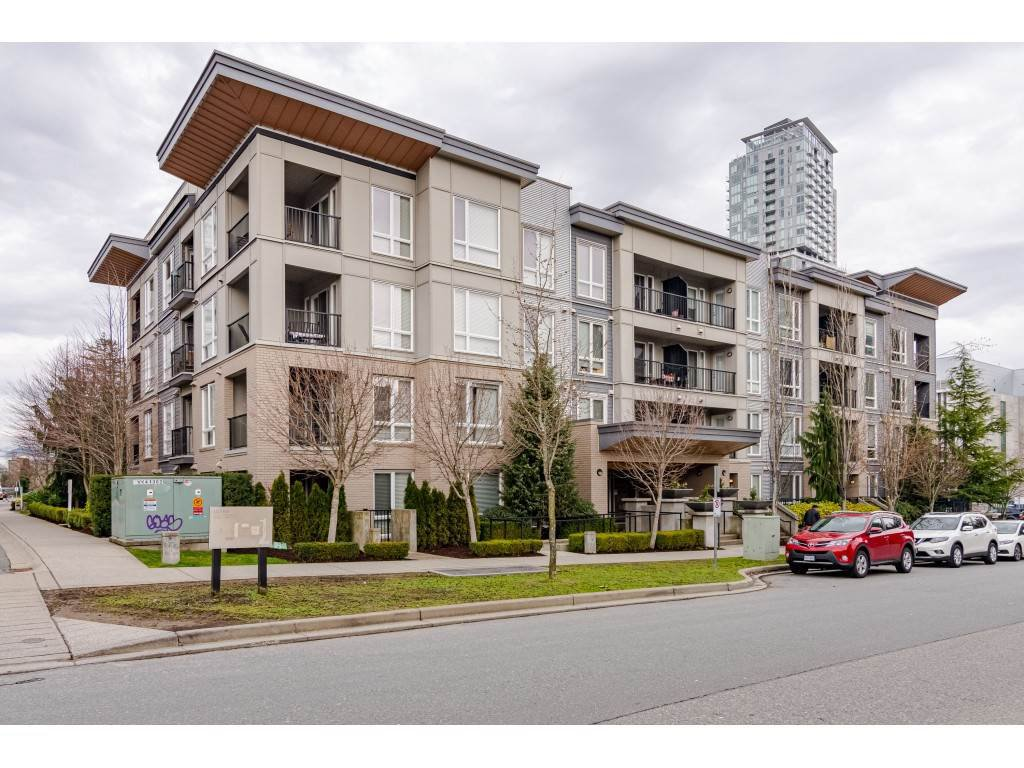 "Main Photo: 303 13339 102A Avenue in Surrey: Whalley Condo for sale in ""The Element"" (North Surrey)  : MLS®# R2440975"