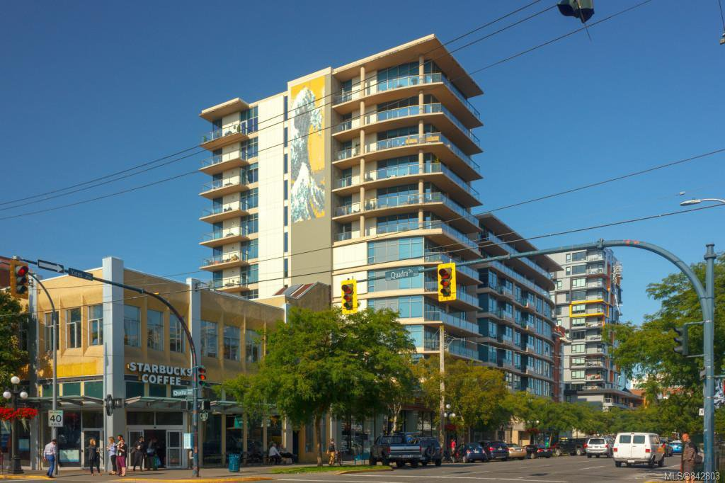 Main Photo: 603 845 Yates St in Victoria: Vi Downtown Condo Apartment for sale : MLS®# 842803