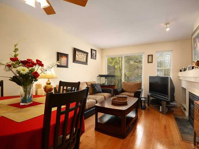 """Main Photo: 29 1561 BOOTH Avenue in Coquitlam: Maillardville Townhouse for sale in """"THE COURTCELLES"""" : MLS®# V1047149"""