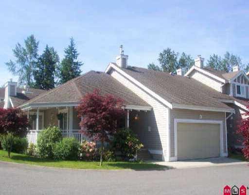 "Main Photo: 44 20788 87TH AV in Langley: Walnut Grove Townhouse for sale in ""Kensington Village Estates"" : MLS®# F2511972"