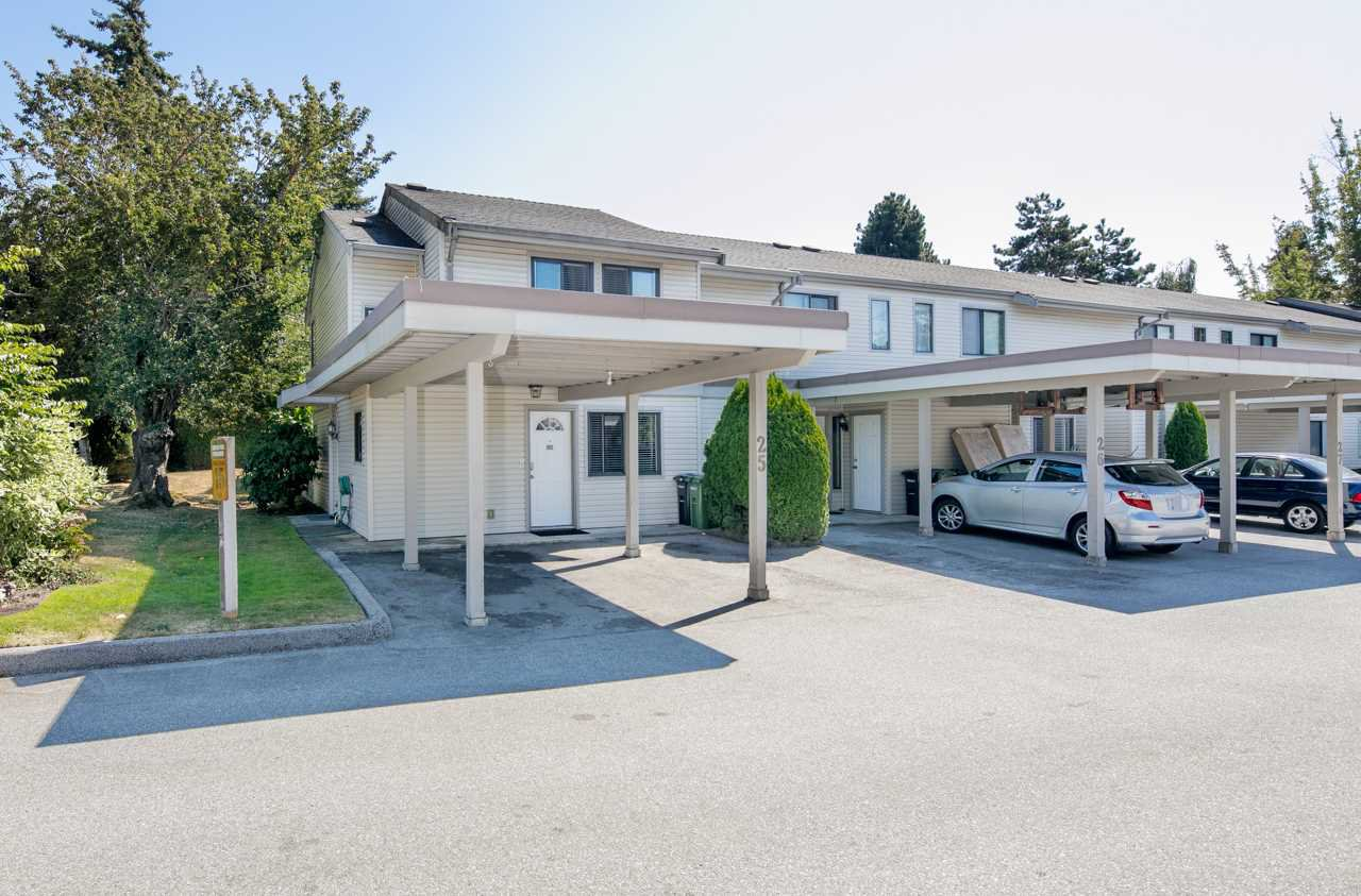 "Main Photo: 25 4700 FRANCIS Road in Richmond: Boyd Park Townhouse for sale in ""PARKSVILLE ESTATES"" : MLS®# R2199673"