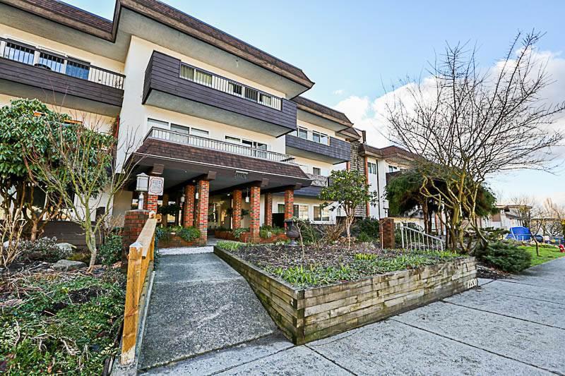 Main Photo: 111 13530 HILTON Road in Surrey: Bolivar Heights Condo for sale (North Surrey)  : MLS®# R2244455