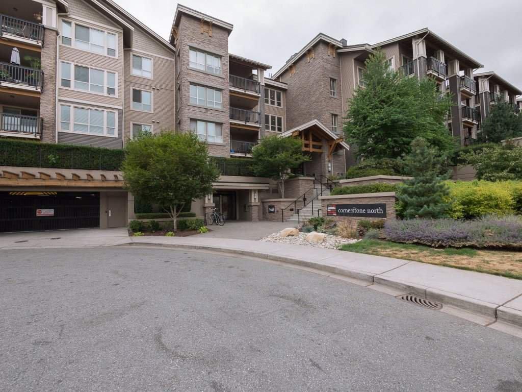 "Main Photo: 110 5655 210A Street in Langley: Salmon River Condo for sale in ""CORNERSTONE NORTH"" : MLS®# R2294951"