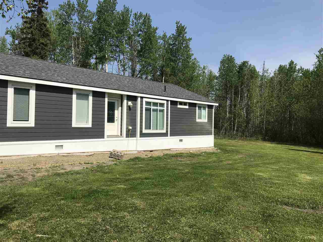 "Main Photo: 14440 256 Road in Fort St. John: Fort St. John - City NW Manufactured Home for sale in ""MONTNEY"" (Fort St. John (Zone 60))  : MLS®# R2374528"
