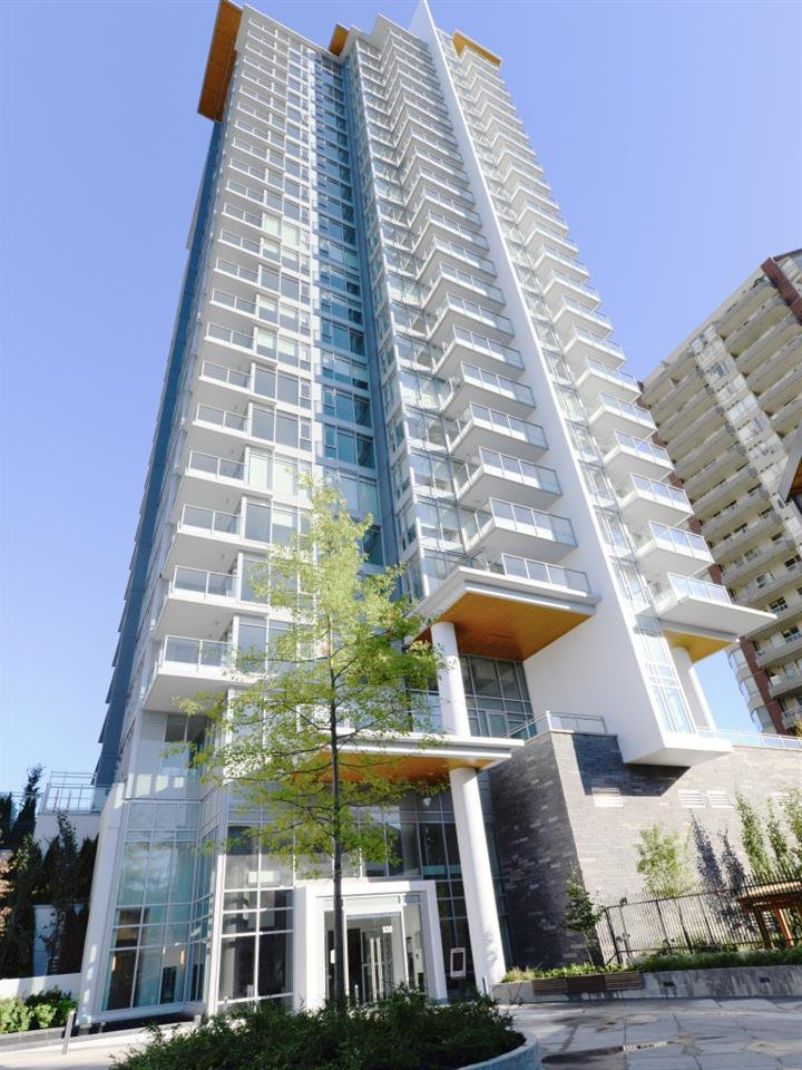 "Main Photo: 1408 520 COMO LAKE Avenue in Coquitlam: Coquitlam West Condo for sale in ""The Crown"" : MLS®# R2381526"