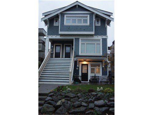 Main Photo: 1832 GREER Ave in Vancouver West: Home for sale : MLS®# V981196