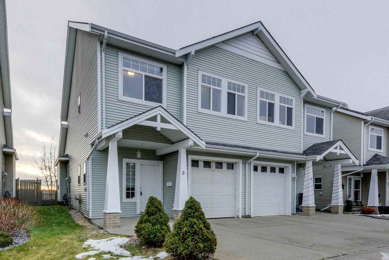 Main Photo: 5 200 ERIN RIDGE Drive: St. Albert Townhouse for sale : MLS®# E4180744