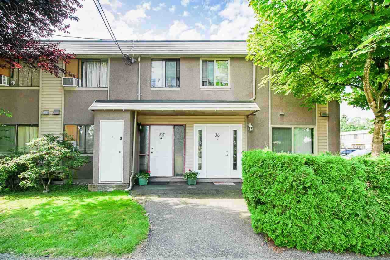 Main Photo: 36 27090 32 AVENUE in Langley: Aldergrove Langley Townhouse for sale : MLS®# R2476482