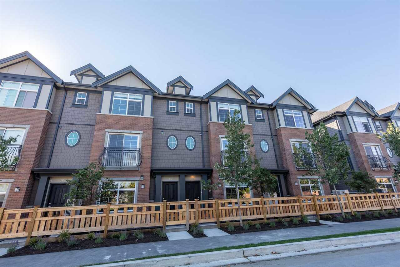 Main Photo: 72 7191 LECHOW Street in Richmond: McLennan North Townhouse for sale : MLS®# R2496678