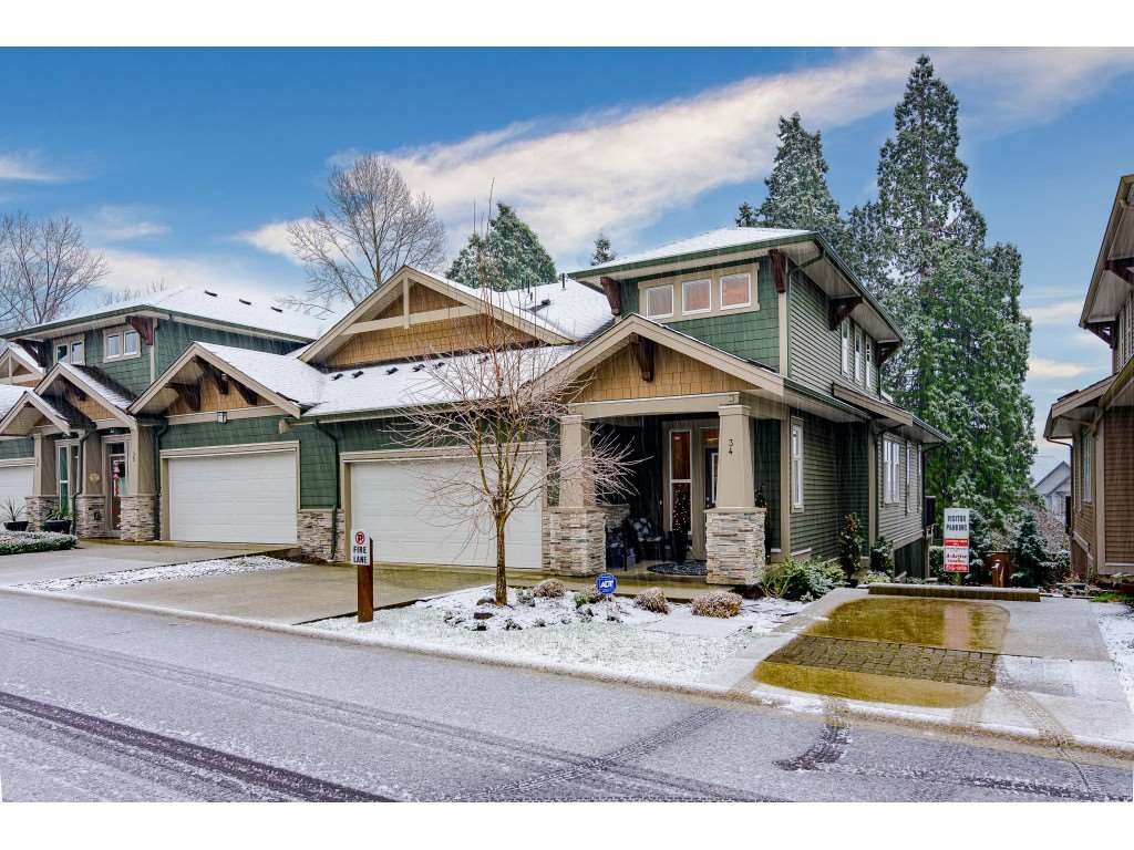 Welcome to #34 - 7138 210 Street, Langley at sought-after Prestwick in Milner Heights!