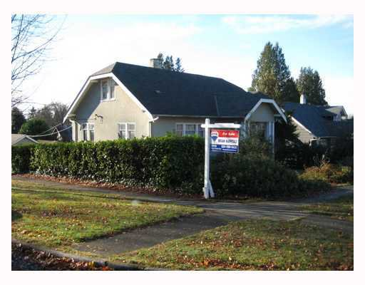 Main Photo: 2906 44TH Ave in Vancouver West: Kerrisdale Home for sale ()  : MLS®# V799381