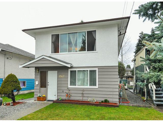 Main Photo: 1967 FRASER Avenue in Port Coquitlam: Glenwood PQ House for sale : MLS®# V1051434