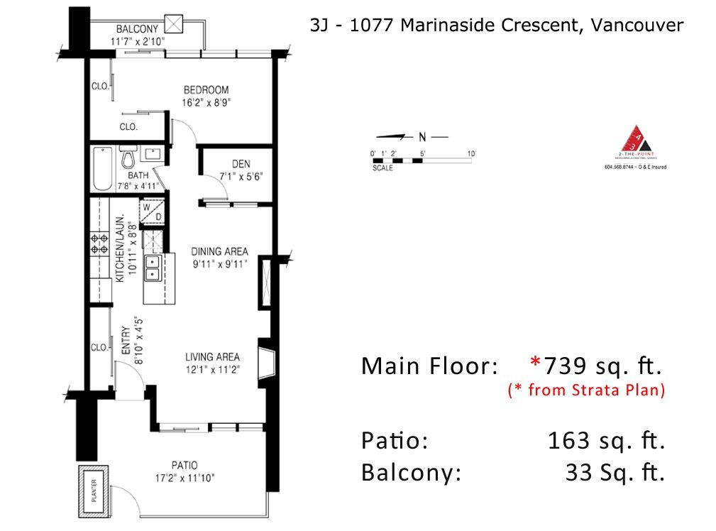 """Photo 19: Photos: GR-3J 1077 MARINASIDE Crescent in Vancouver: Yaletown Condo for sale in """"MARINASIDE RESORT"""" (Vancouver West)  : MLS®# R2050287"""