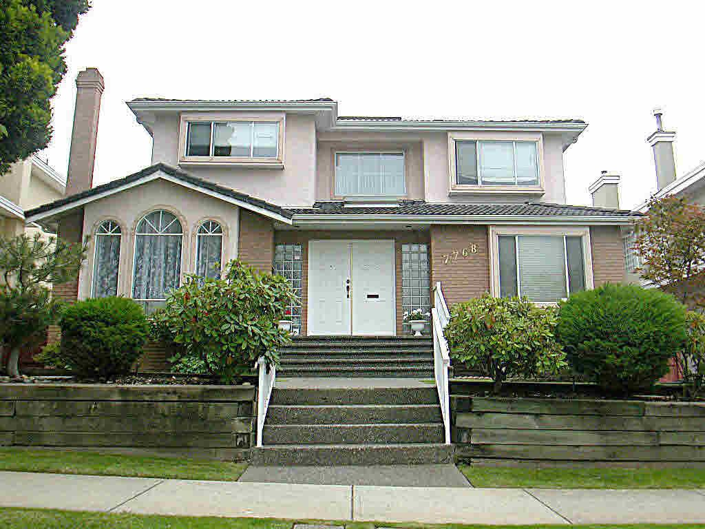 Main Photo: 7768 FRENCH STREET in : Marpole House for sale : MLS®# V503622