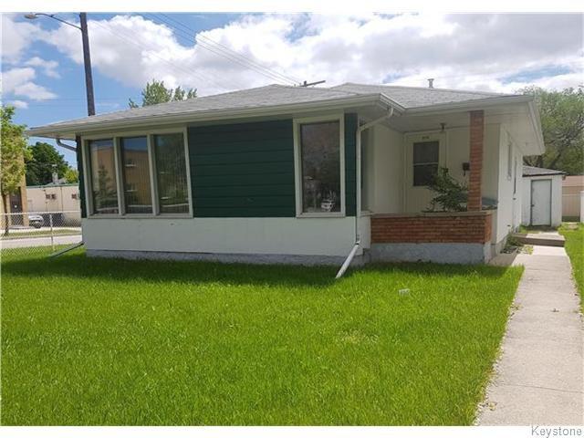Main Photo: 470 Kilbride Avenue in Winnipeg: Residential for sale : MLS®# 1615128