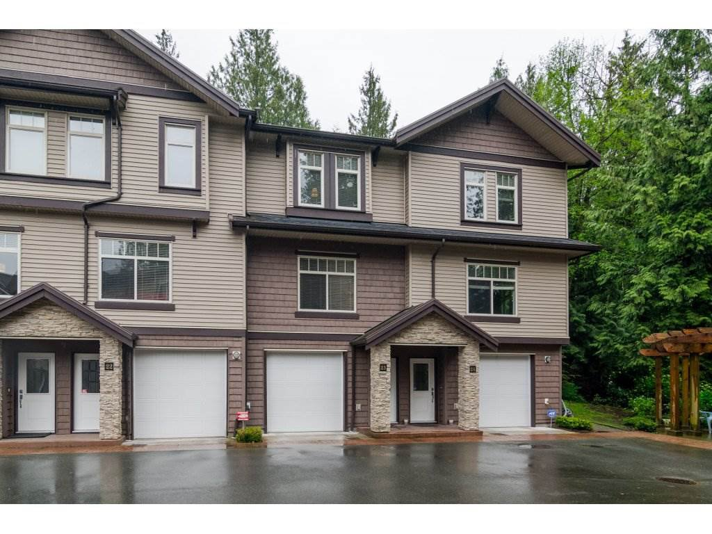 "Main Photo: 23 2950 LEFEUVRE Road in Abbotsford: Aberdeen Townhouse for sale in ""Cedar Landing"" : MLS®# R2162046"