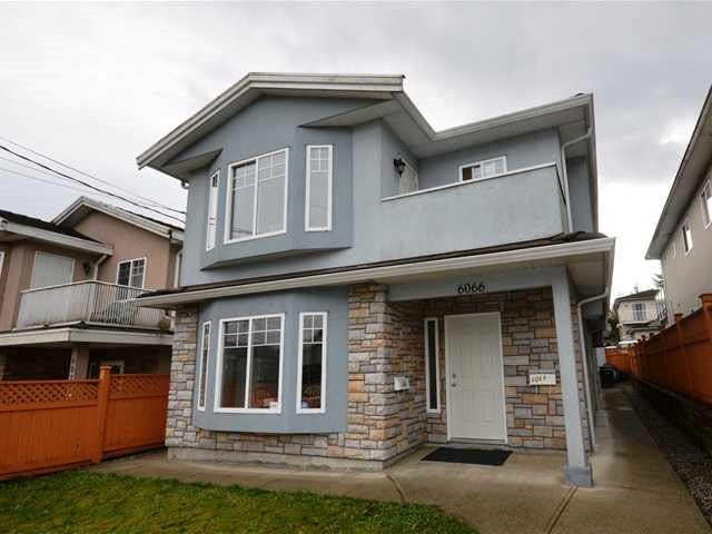 Main Photo: 6068 WOODSWORTH Street in Burnaby: Central BN House 1/2 Duplex for sale (Burnaby North)  : MLS®# R2181290