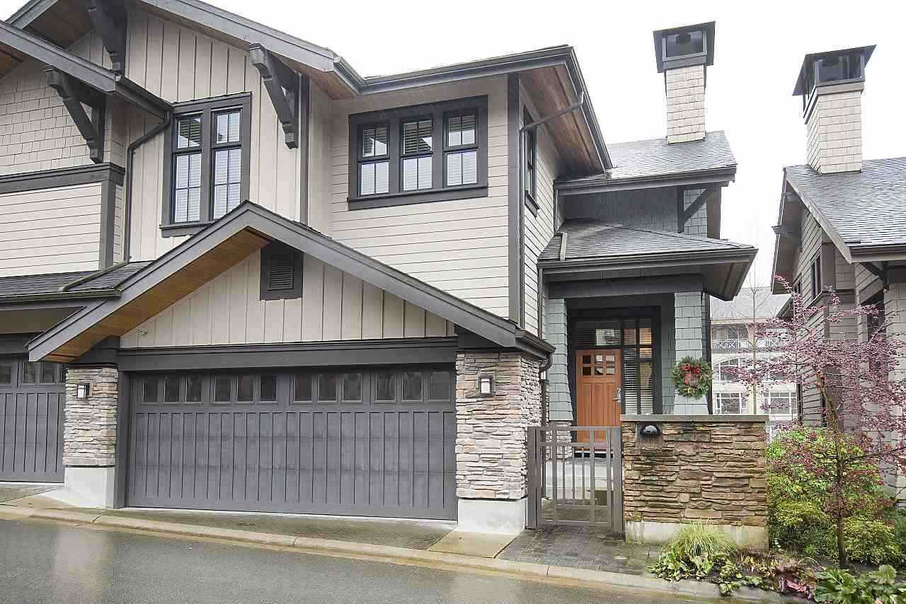 """Main Photo: 11 555 RAVEN WOODS Drive in North Vancouver: Roche Point Townhouse for sale in """"SIGNATURE ESTATES OF RAVENWOODS"""" : MLS®# R2495900"""