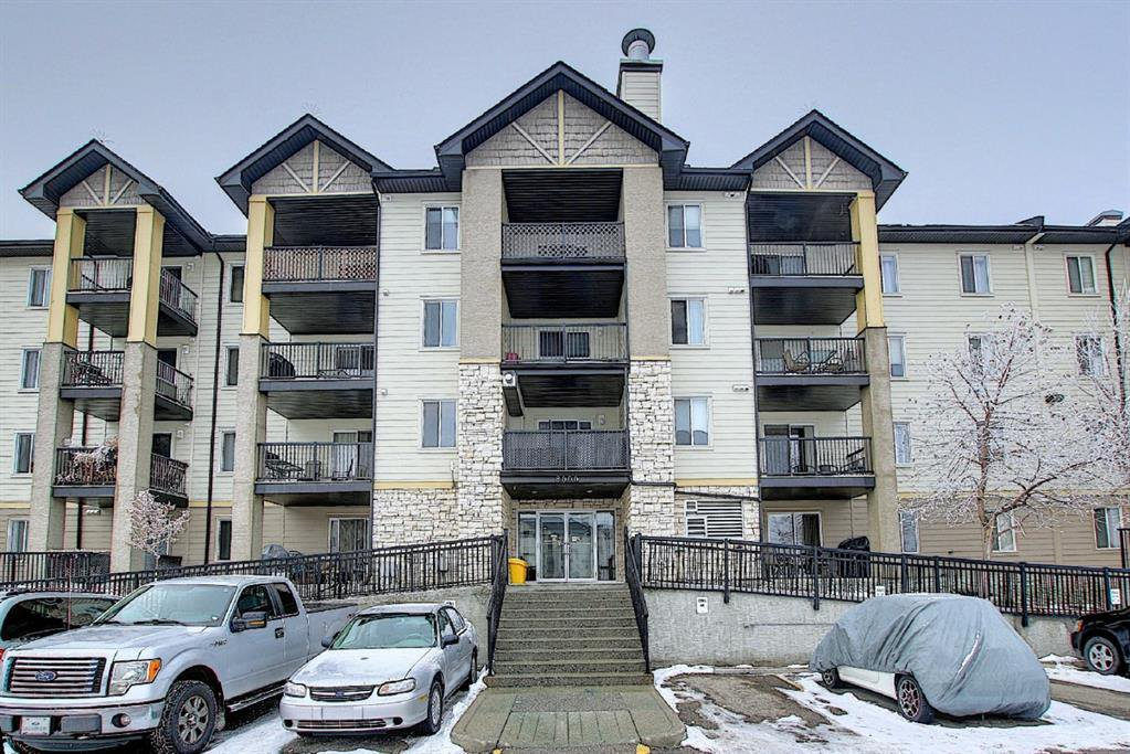 Main Photo: 8216 304 Mackenzie Way SW: Airdrie Apartment for sale : MLS®# A1049614