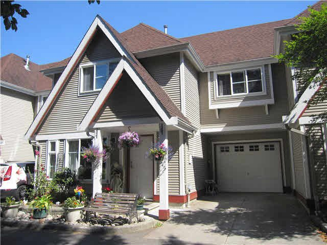 "Main Photo: 3 11458 232ND Street in Maple Ridge: Cottonwood MR Townhouse for sale in ""COLLEGE LANE"" : MLS®# V1132006"
