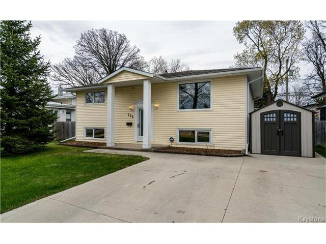 Main Photo: 114 Wordsworth Way in Winnipeg: Westwood Residential for sale (5G)  : MLS®# 1711390