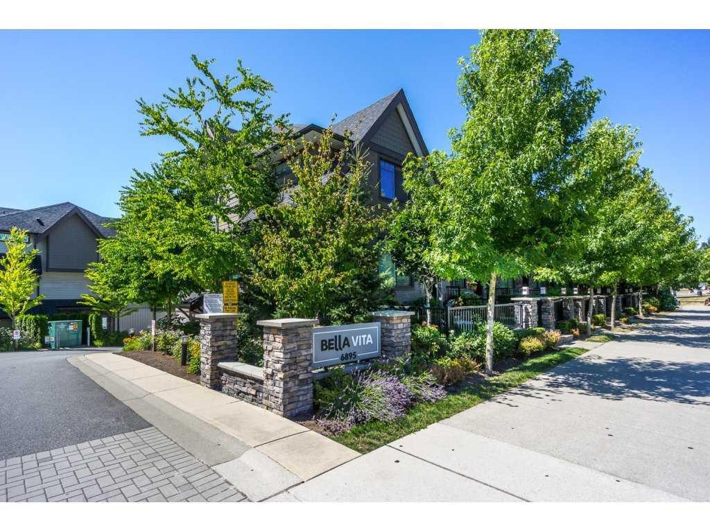 "Main Photo: 12 6895 188 Street in Surrey: Clayton Townhouse for sale in ""Bella Vita"" (Cloverdale)  : MLS®# R2192122"