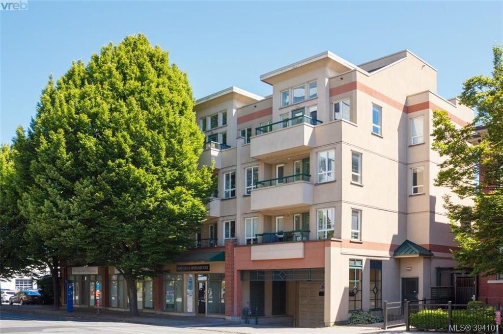 Main Photo: 401 1015 Johnson Street in VICTORIA: Vi Downtown Condo Apartment for sale (Victoria)  : MLS®# 394101