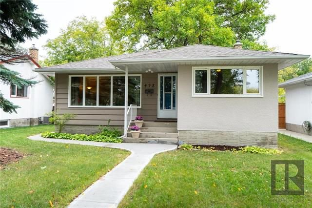 Main Photo: 498 Roseberry Street in Winnipeg: St James Residential for sale (5E)  : MLS®# 1825583