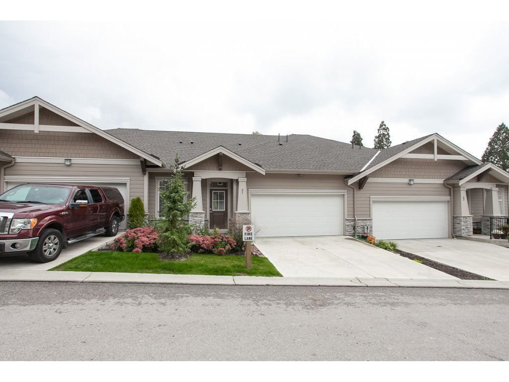 """Main Photo: 21 7138 210 Street in Langley: Willoughby Heights Townhouse for sale in """"Prestwick"""" : MLS®# R2307628"""