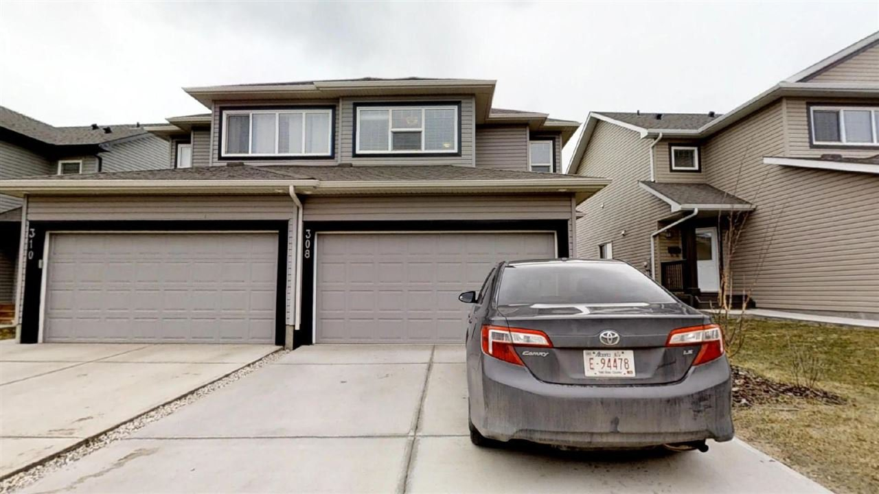 Main Photo: 308 42 Avenue in Edmonton: Zone 30 House Half Duplex for sale : MLS®# E4155110