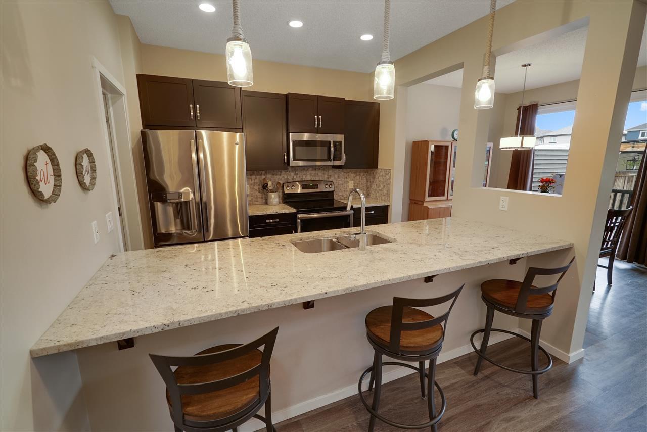 Main Photo: 13023 205 Street in Edmonton: Zone 59 House Half Duplex for sale : MLS®# E4161506