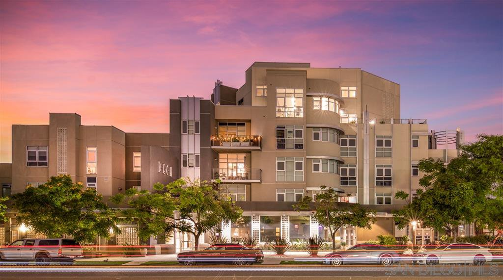 Main Photo: HILLCREST Condo for sale : 2 bedrooms : 3740 Park Blvd #611 in San Diego
