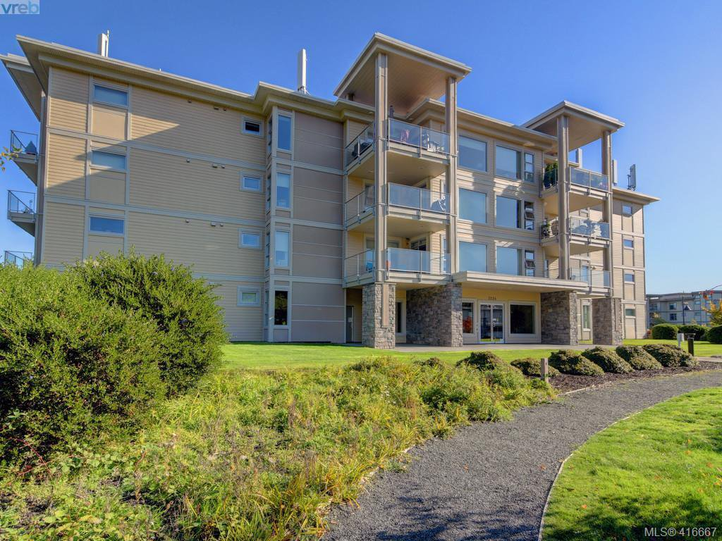 Main Photo: 401 3234 Holgate Lane in VICTORIA: Co Lagoon Condo Apartment for sale (Colwood)  : MLS®# 416667