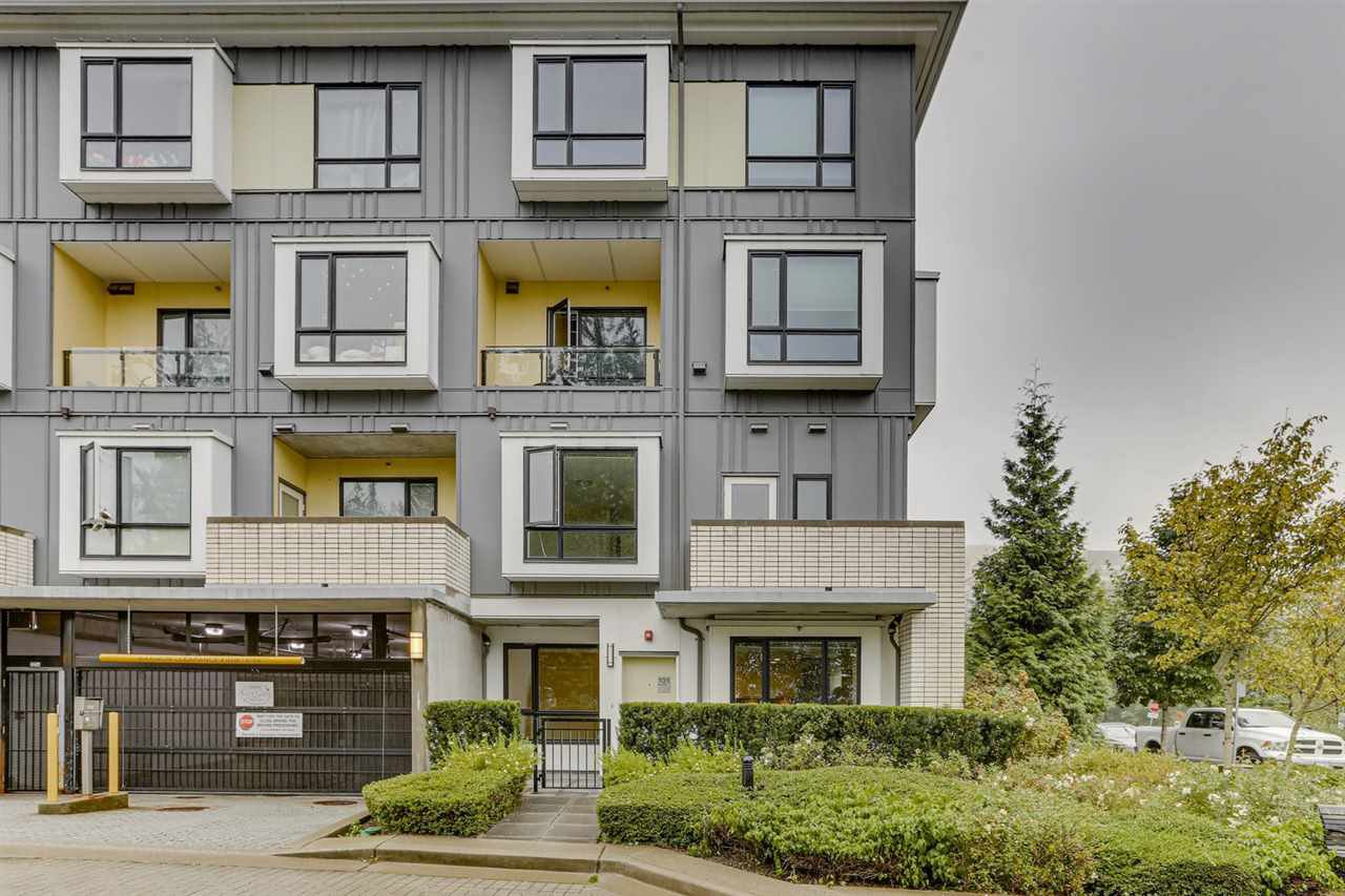 Main Photo: 101 9350 UNIVERSITY HIGH Street in Burnaby: Simon Fraser Univer. Townhouse for sale (Burnaby North)  : MLS®# R2518854
