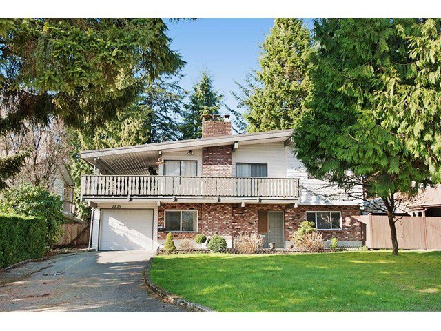 Main Photo: 2829 ST. JAMES Street in Port Coquitlam: Glenwood PQ House for sale : MLS®# V1105659