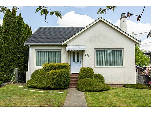"Photo 1: Photos: 251 OSBORNE Avenue in New Westminster: GlenBrooke North House for sale in ""GLENBROOOKE"" : MLS®# V1135423"
