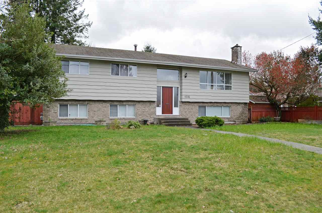 Main Photo: 1516 MILFORD Avenue in Coquitlam: Central Coquitlam House for sale : MLS®# R2046067