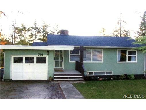 Main Photo: 715 Daffodil Ave in VICTORIA: SW Marigold House for sale (Saanich West)  : MLS®# 725079