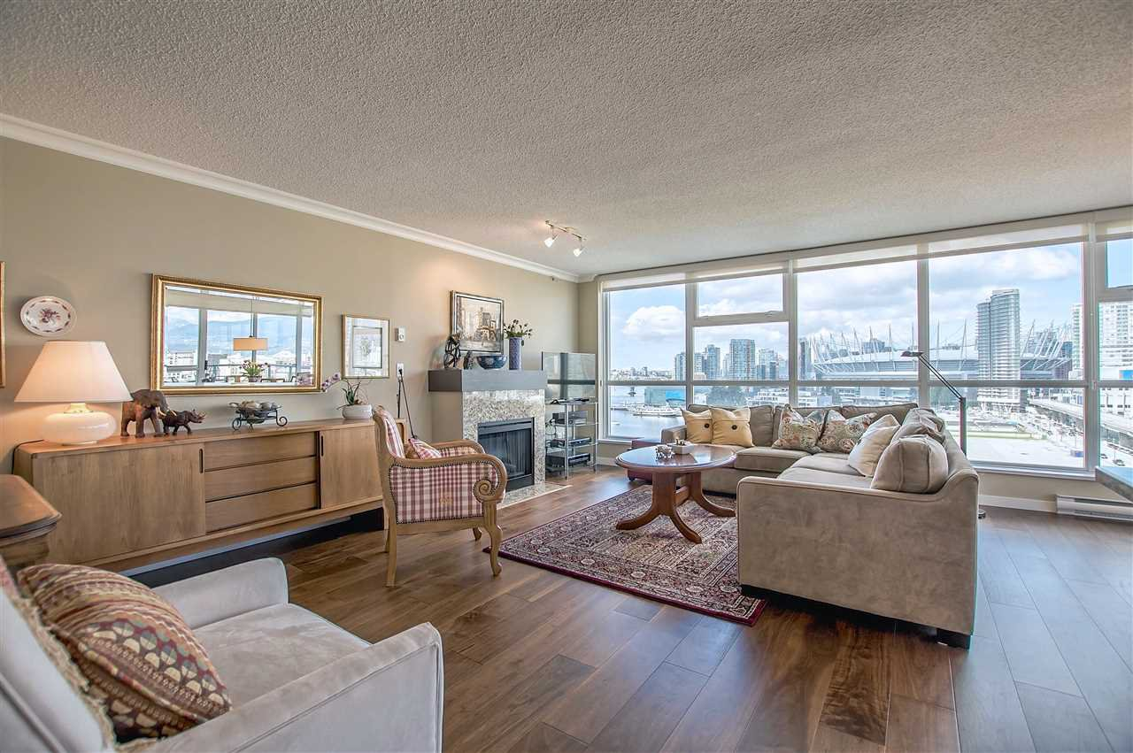 "Main Photo: 1206 125 MILROSS Avenue in Vancouver: Mount Pleasant VE Condo for sale in ""CREEKSIDE"" (Vancouver East)  : MLS®# R2159245"