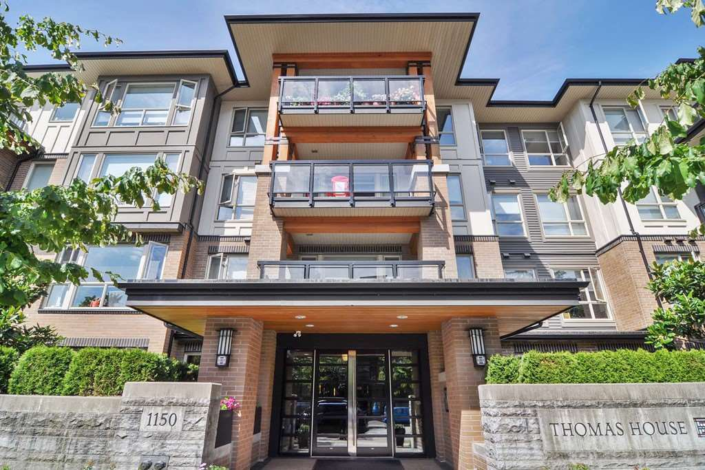 Main Photo: 307 1150 KENSAL Place in Coquitlam: New Horizons Condo for sale : MLS®# R2226865