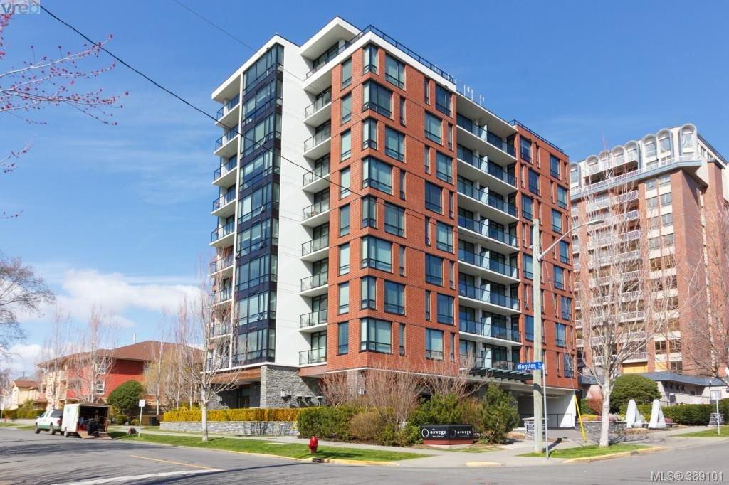 Main Photo: 905 500 Oswego St in VICTORIA: Vi James Bay Condo Apartment for sale (Victoria)  : MLS®# 781768