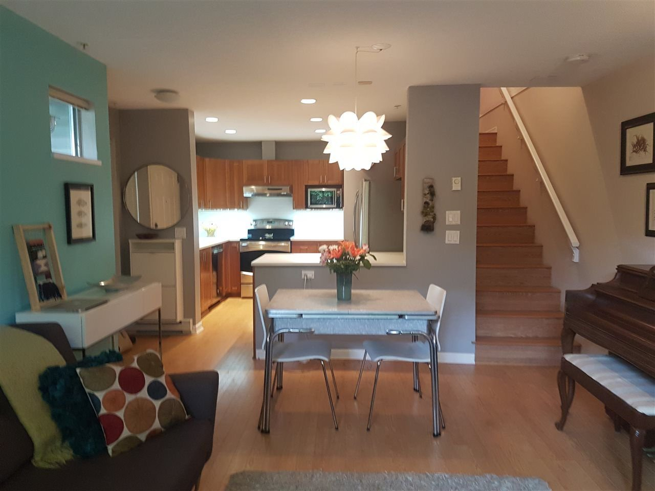 Living/Dining Room & Kitchen