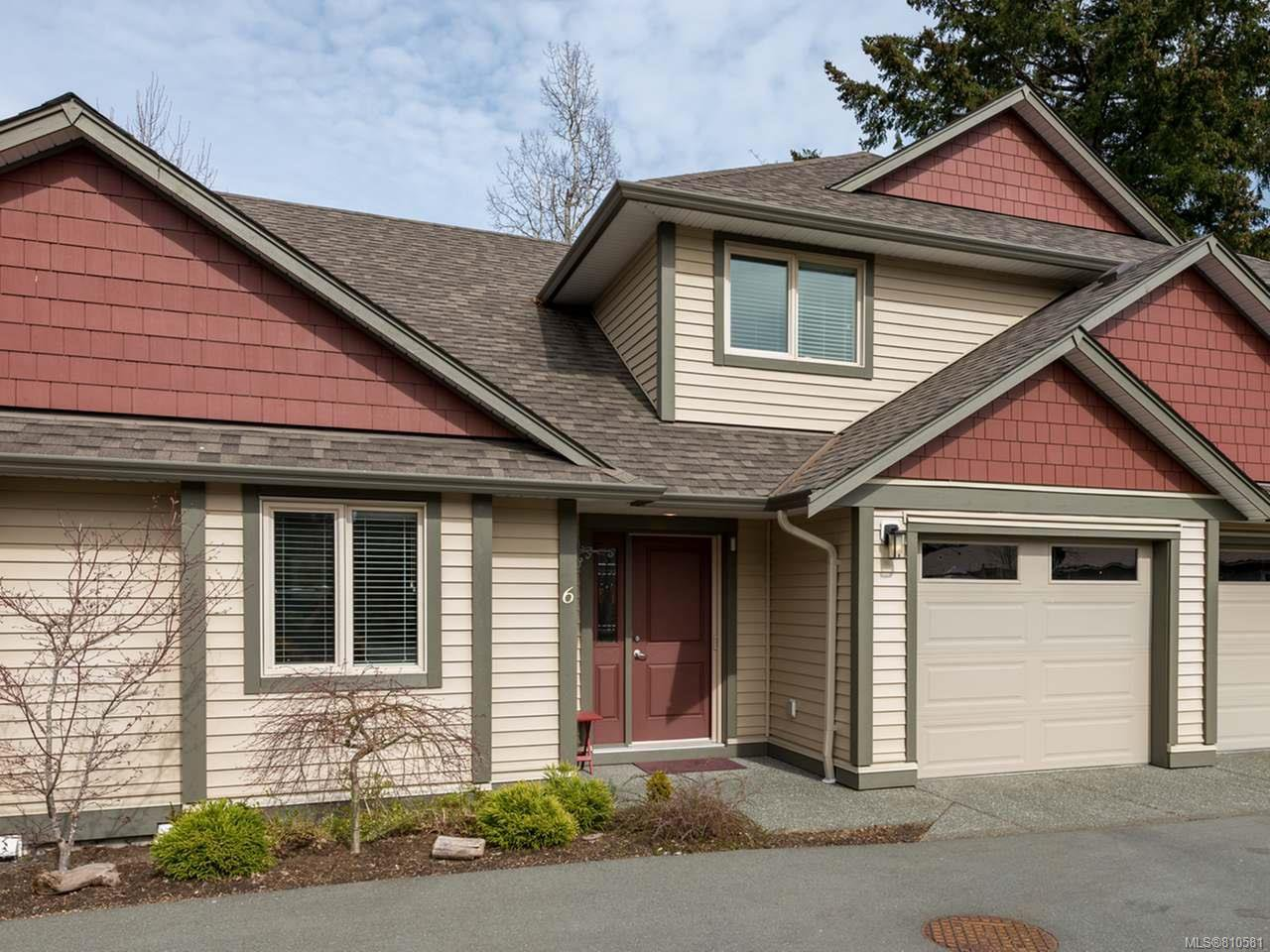 Main Photo: 6 1620 Piercy Ave in COURTENAY: CV Courtenay City Row/Townhouse for sale (Comox Valley)  : MLS®# 810581
