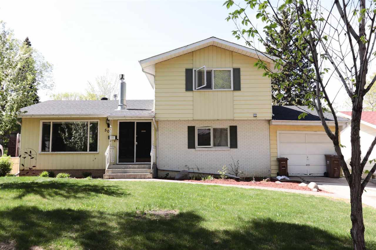 Main Photo: 50 BROADVIEW Crescent: St. Albert House for sale : MLS®# E4158470